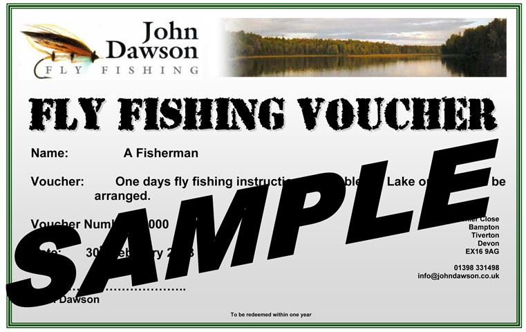 Fly Fishing Voucher